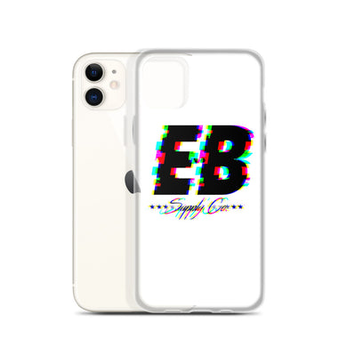 EB Glitched Case - White