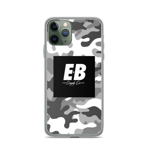 EB Box Logo Case - Snow Camo
