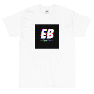 EB Glitched Tee -Black