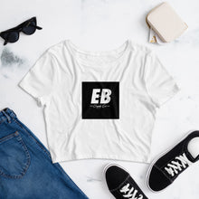 EB Logo Crop Top - Black