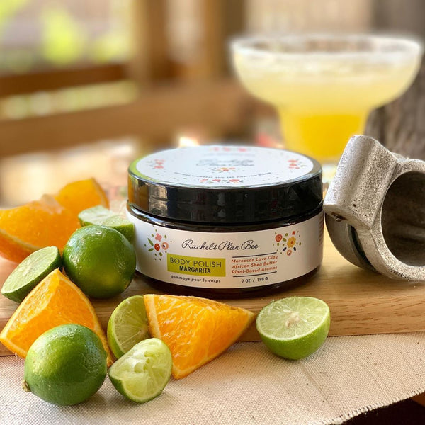 Rachel's Plan Bee Body Polish Margarita - The Beauty Garden Boutique