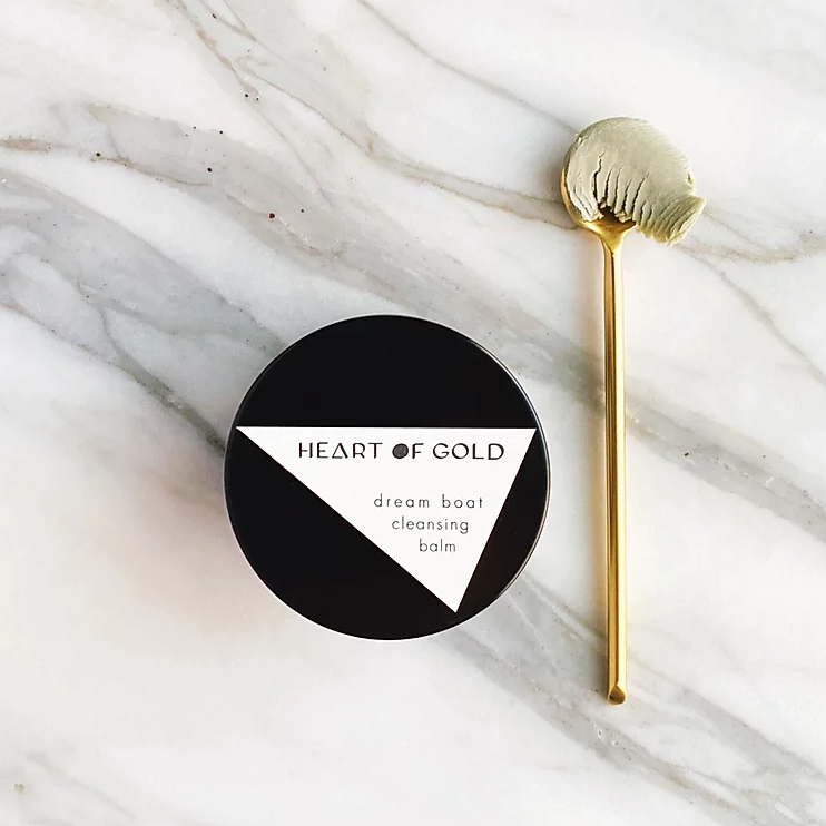 Heart of Gold | Dream Boat Cleansing Balm | The Beauty Garden Boutique