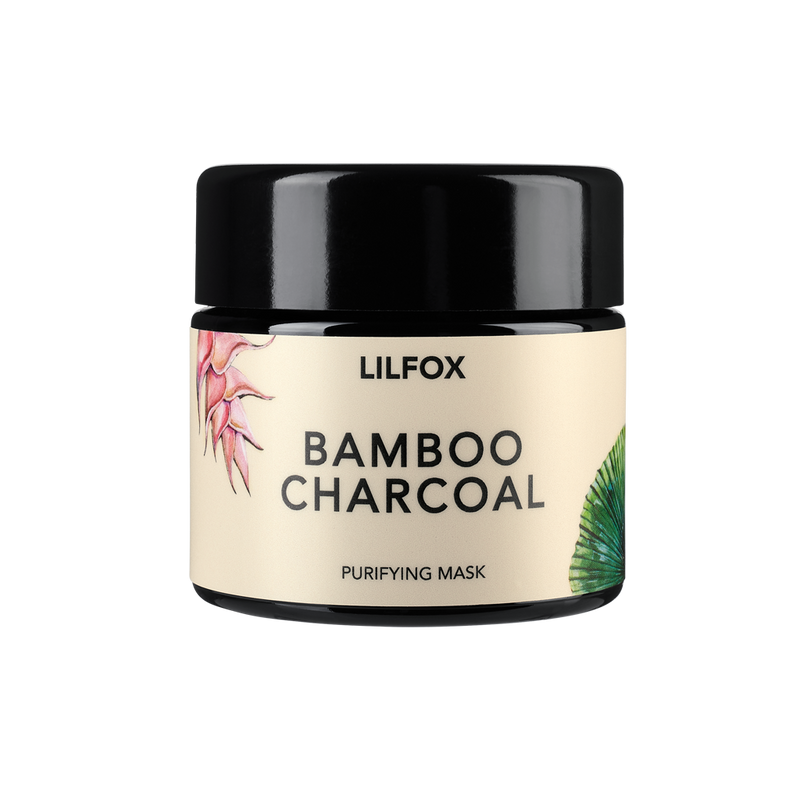 LILFOX | BAMBOO CHARCOAL Purifying Mask | The Beauty Garden Boutique