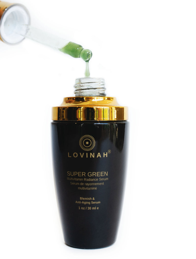 Lovinah Skincare Super Green Multivitamin Radiance Serum - The Beauty Garden Boutique