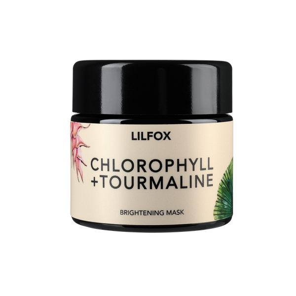 LILFOX Brightening Face Mask CHLOROPHYLL + TOURMALINE BRIGHTENING MASK - The Beauty Garden Boutique