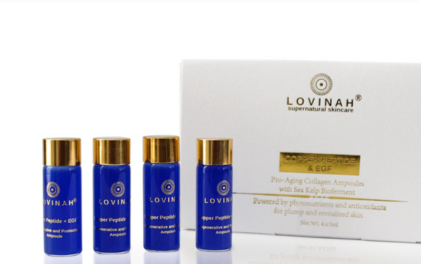 Lovinah | Copper Peptide & EGF Ampoule | The Beauty Garden Boutique