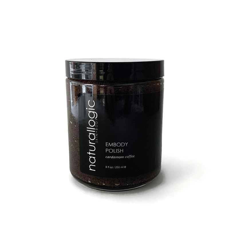 Naturallogic Embody Polish Exquisite Cardamom Coffee Body Exfoliate - The Beauty Garden Boutique