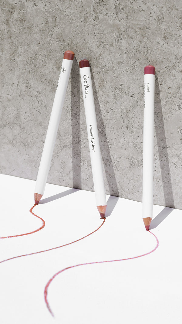 Ere Perez sesame lip liners - The Beauty Garden Boutique