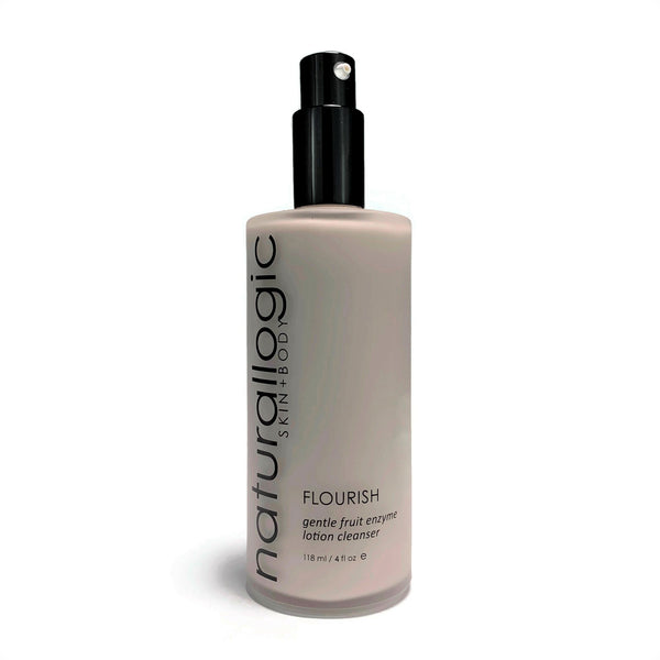 Naturallogic Flourish Gentle Fruit Enzyme Lotion Cleanser - The Beauty Garden Boutique