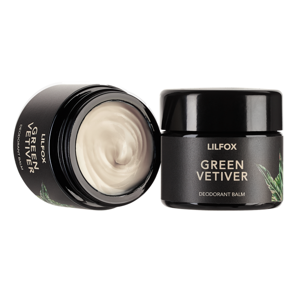 LILFOX | GREEN VETIVER Deodorant Balm | The Beauty Garden Boutique