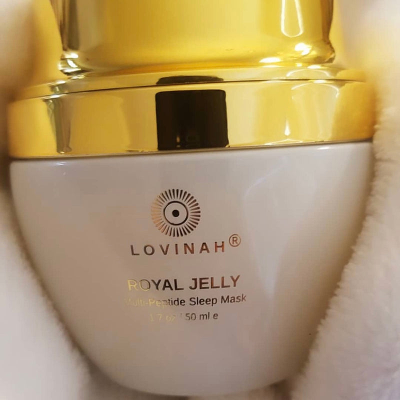 Lovinah | Royal Jelly Multi-Peptide Sleep Mask | The Beauty Garden Boutique