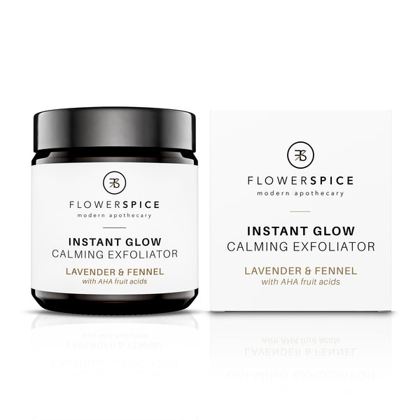 Flower and Spice Instant Glow Calming Exfoliator - The Beauty Garden Boutique