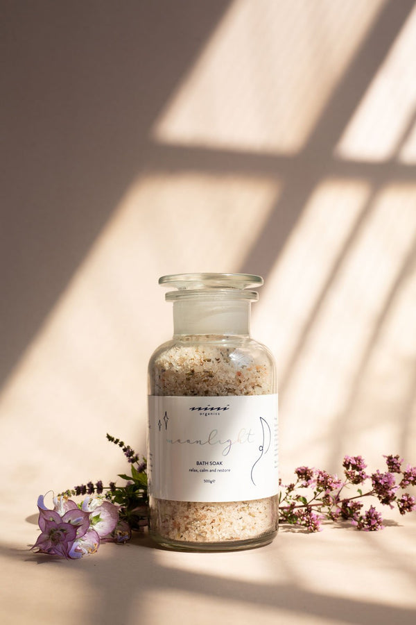 Nini Organics | Moonlight Bath Soak | The Beauty Garden