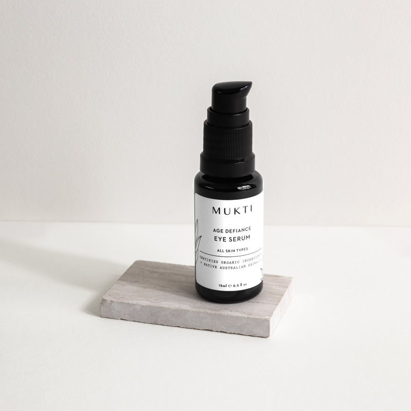 Mukti Organics Skincare Age Defiance Eye Serum - The Beauty Garden Boutique