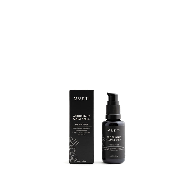 Mukti Organics Skincare Antioxidant Facial Serum - The Beauty Garden Boutique