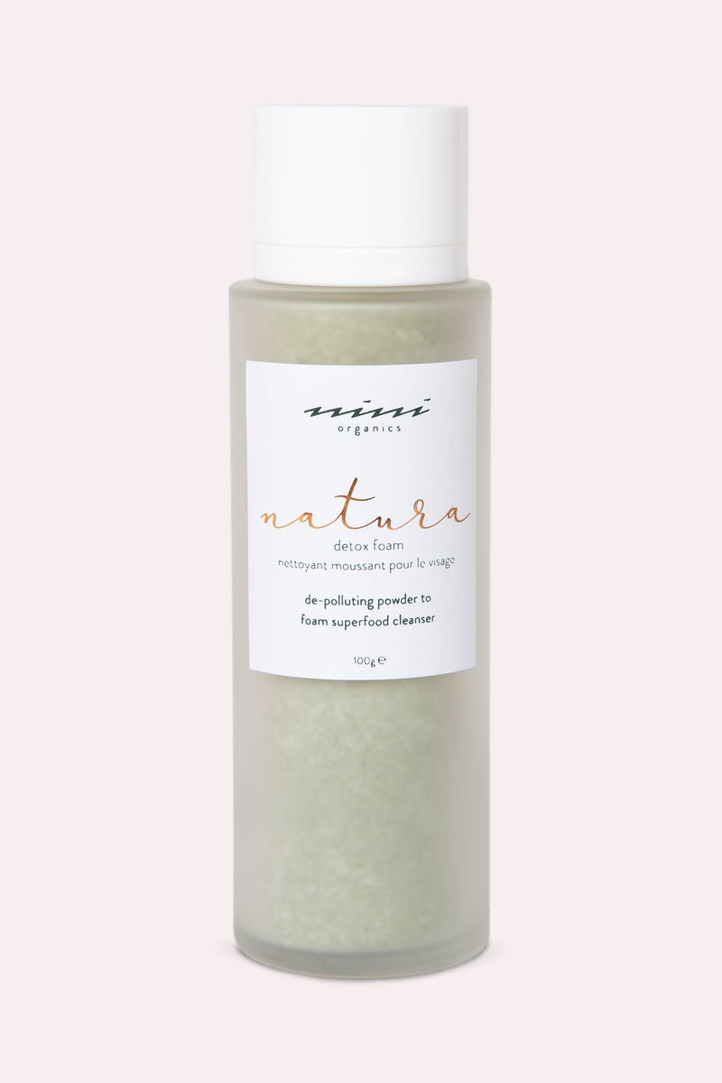 Nini Organics | Natural Detox Foam | The Beauty Garden Boutique