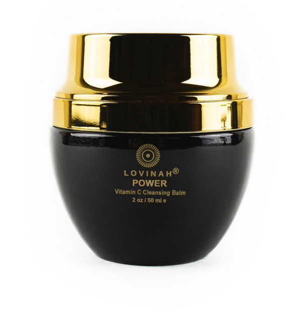 Lovinah Skincare Power Vitamin C Cleansing Balm - The Beauty Garden Boutique