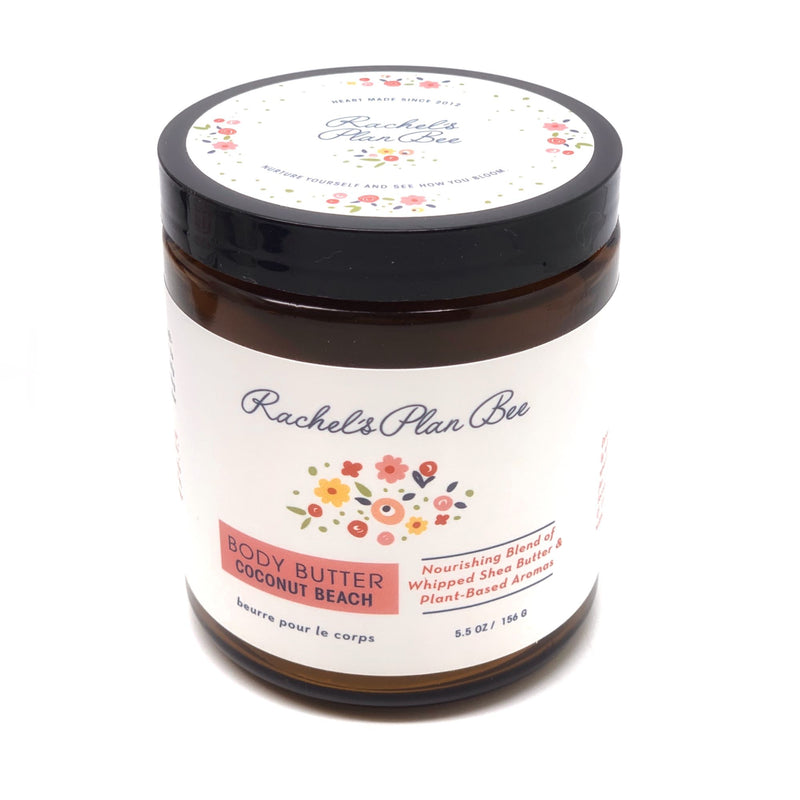 Rachel's Plan Bee Body Butter Coconut Beach - The Beauty Garden Boutique