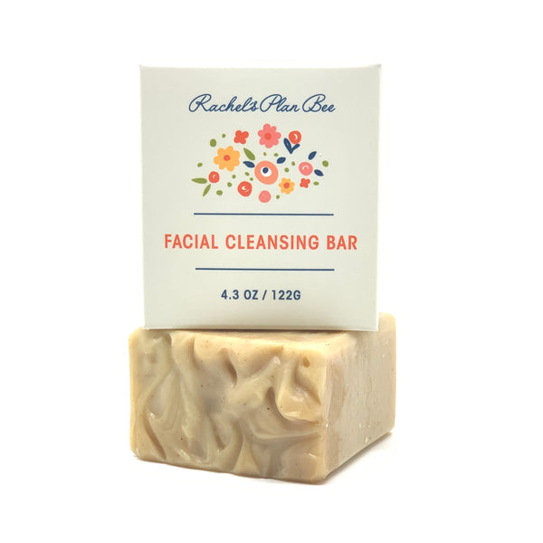 Rachel's Plan Bee Facial Cleansing Bar - The Beauty Garden Boutique