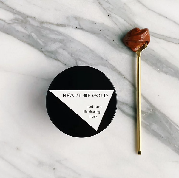 Heart of Gold | Red Tara Illuminating Mask | The Beauty Garden Boutique