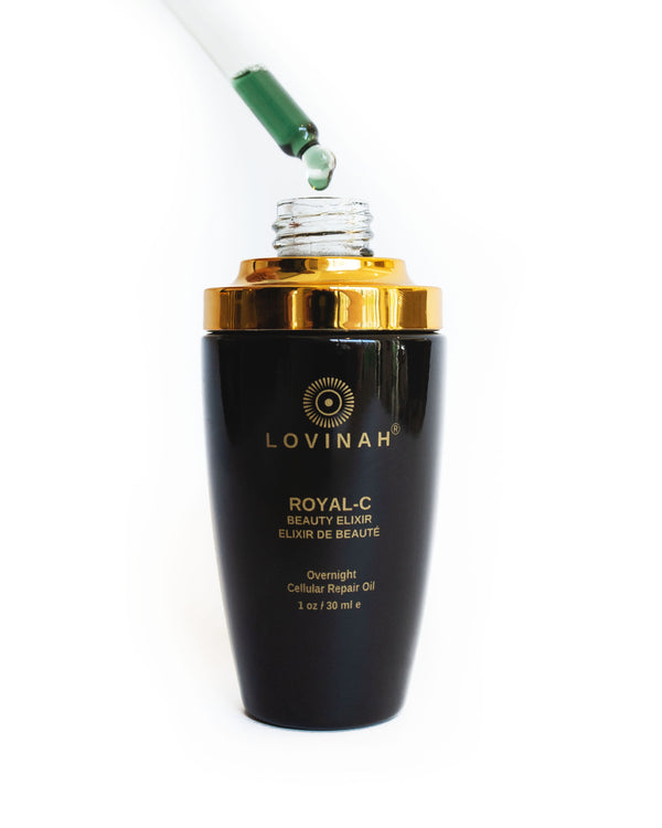 Lovinah Skincare | Royal C Overnight Cellular Repair Oil | The Beauty Garden Boutique