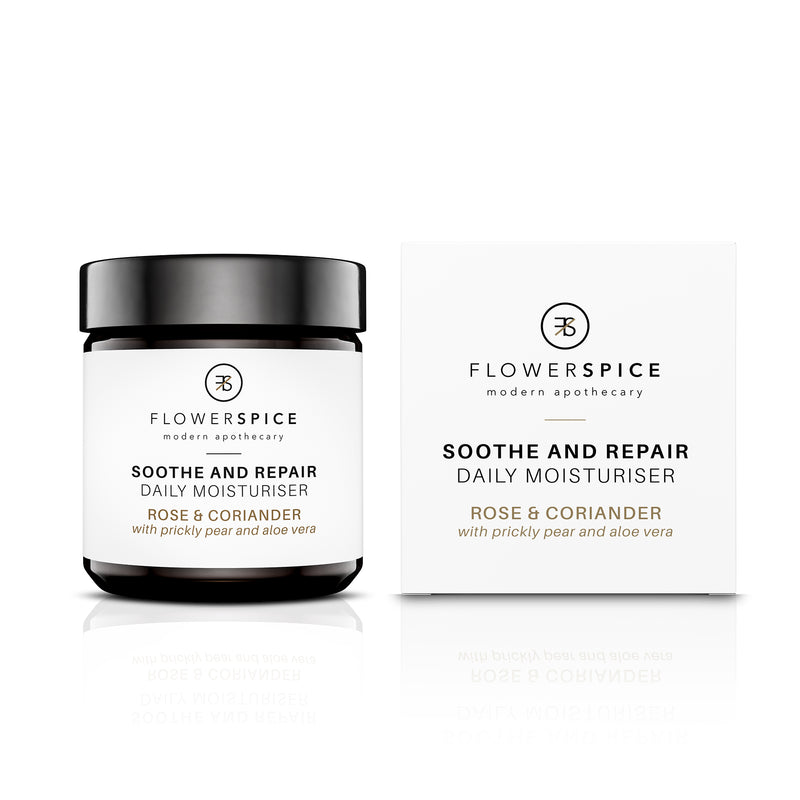 Flower and Spice Soothe and Repair Daily Moisturiser - The Beauty Garden Boutique