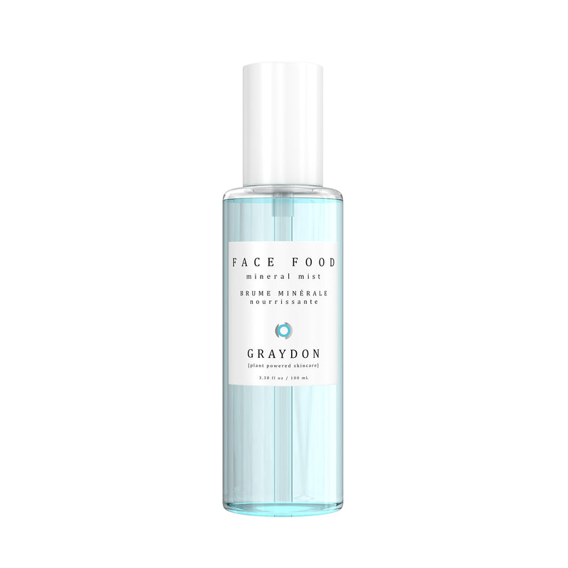 Graydon Skincare | Face Food Mineral Mist | The Beauty Garden Boutique