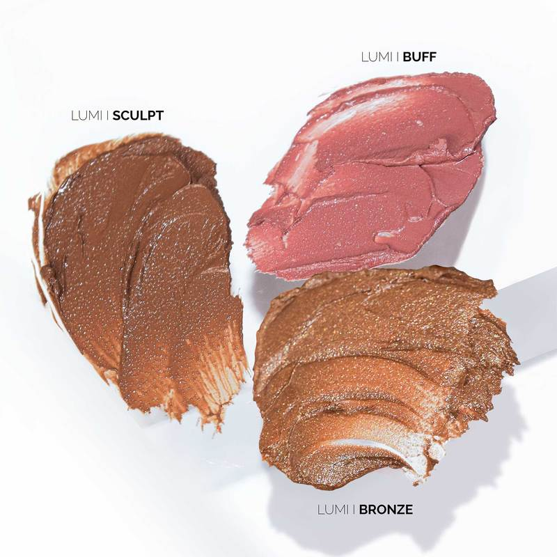 Fitglow Beauty | LUMI FIRM TRIO Nude Collection | The Beauty Garden Boutique