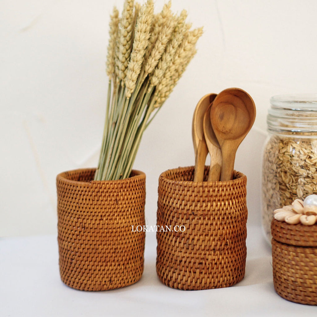 Botu Rattan Storage Holder