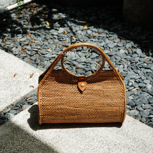 Culion Brown Bali Rattan Bag