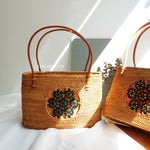 Daya Brown Bali Rattan Bag