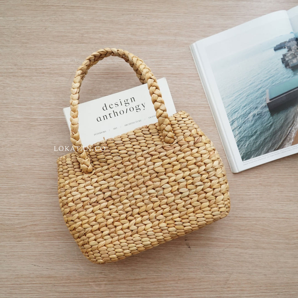 Java Weaving Seagrass Bag Bali - Lokatan