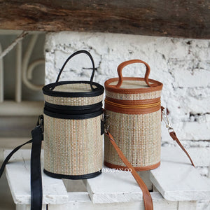 Mikala Weaving Straw Bag - Lokatan