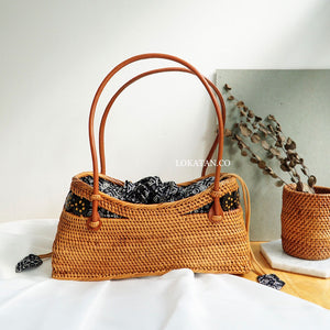 Padda Brown Bali Rattan Bag