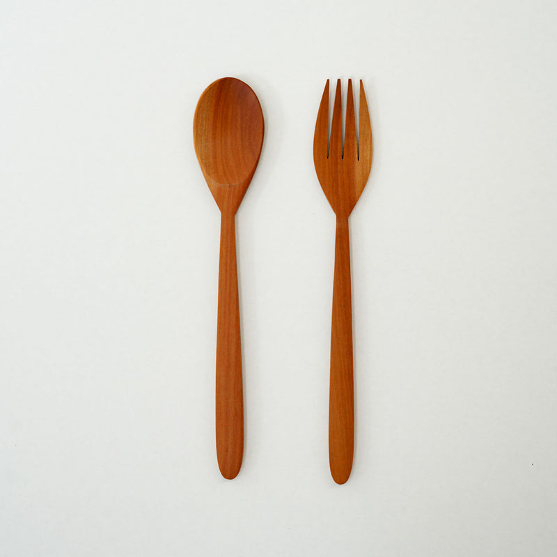 Rebi Wooden Spoon and Fork