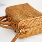 Sakra Brown Bali Rattan Bag