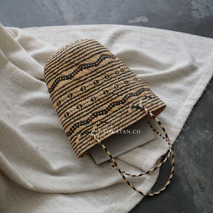 Tribal Seagrass Tote Bag - Lokatan