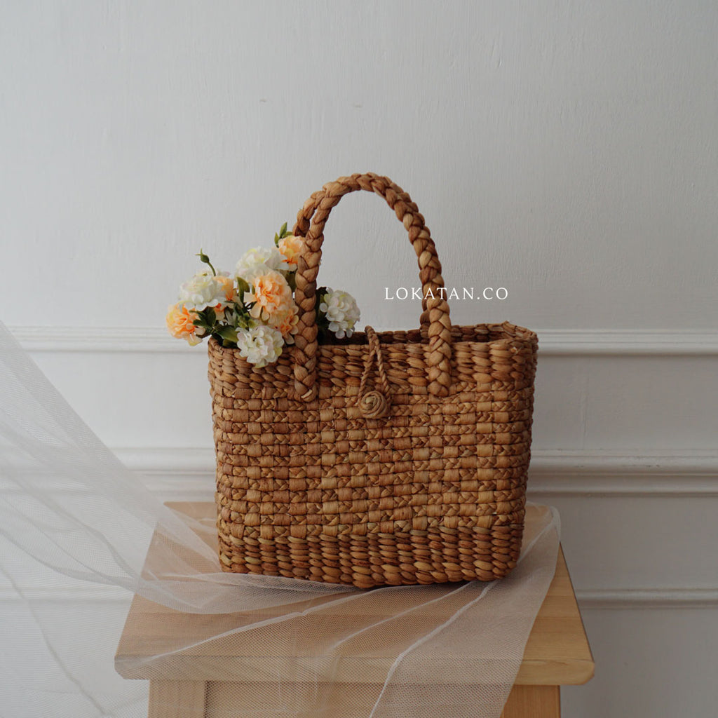 Weaving Seagrass Handbag