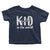 Best Dad, Mom and Kid Ever_Short Sleeve Graphic Matching T-Shirts_Family Look_Navy_Toddler at TeeLikeYours.com