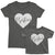 Bestiest_short sleeve Graphic Matching T-Shirts for Mommy and Me or Friends_Asphalt colorTees at TeeLikeYours.com