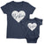 Bestiest_short sleeve Graphic Matching T-Shirts for Mommy and Me or Friends_Navy color Tees at TeeLikeYours.com