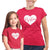 Bestiest_short sleeve Graphic Matching T-Shirts for Mommy and Me or Friends_Red color Tees at TeeLikeYours.com