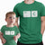 Control-C_Control-V_Daddy_and_Me_Matching_Graphic_T-Shirts_Baby_One_Piece_short_sleeve_Kelly_Green_for_Men_at_TeeLikeYours.com