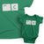 Control-C_Control-V_Mommy and Me - short sleeve Matching Graphic T-Shirts_Kelly Green at TeeLikeYours.com