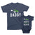 Daddy and Daddy's Little Helper-Matching Family T-shirts_Set_With_Tractors_Daddy_And_Me_Father_Son_Daughter_Baby_Tee_By_TeeLikeYours.com_Navy_Blue_Color