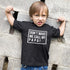 Don't Make Me Call My Papa - short sleeve Graphic Matching T-Shirts for Daddy and Me