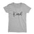 Kind_Short Sleeve Graphic T-Shirt for Women_Athletic Heather color at TeeLikeYours.com