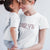 Love_short sleeve Graphic Matching T-Shirts for Mother and Daughter_White color at TeeLikeYours.com