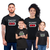 Mommy, Daddy and Baby Battery Power - Graphic T-Shirts Matching Outfit for All Family_Black Color at TeeLikeYours.com