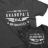 Only Cool Grandpas Ride Motorcycles and Only Cool Grandsons Play With Motorcycles - Motorcycling Matching t-shirts